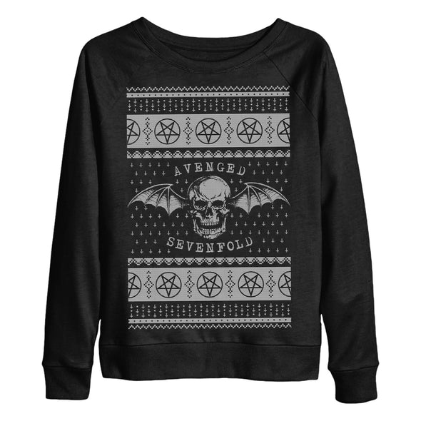 Hail Santa Women's Crewneck