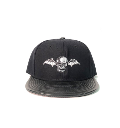A7X Faux Leather Bill - Snapback