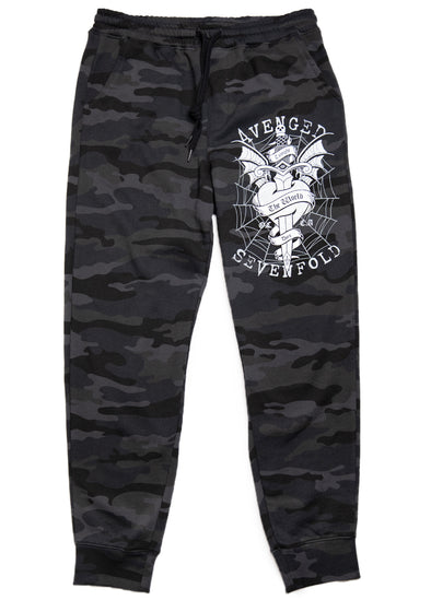 Tonight The World Dies - Shadow Camo Joggers