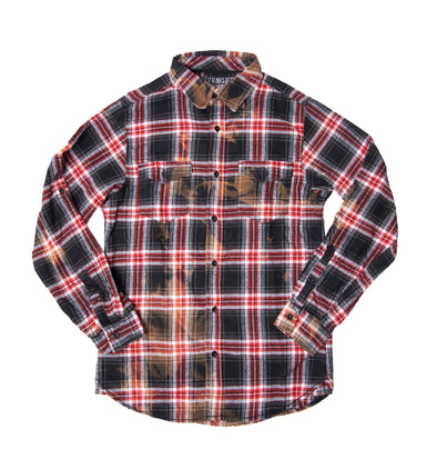Trashed & Scattered Flannel