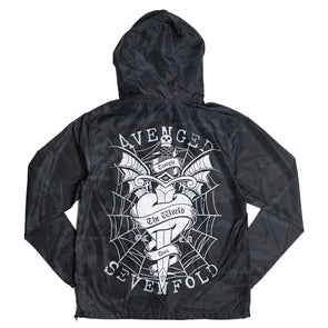 Tonight The World Dies - Shadow Camo Lightweight Windbreaker