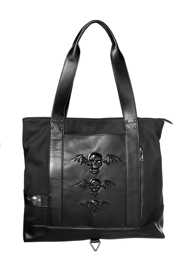 Deathbat - Large Canvas Tote