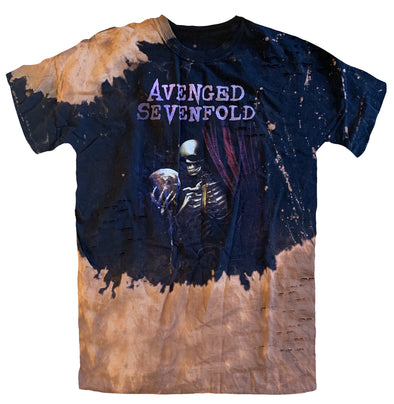 Tour Splatter - Bleach Wash Tee