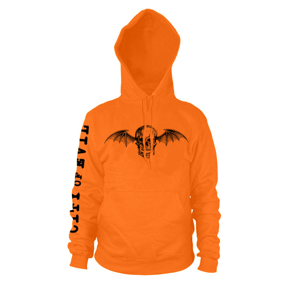 City Of Evil Limited Edition - Orange Hooded Pullover