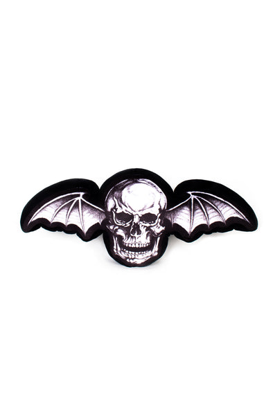 Deathbat Decorative Pillow