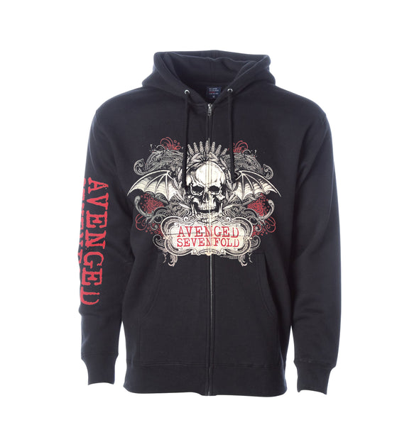 Ornate - Zip-Up Hoodie
