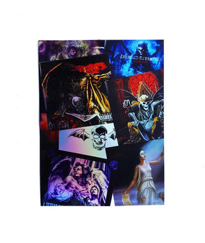 Decades Foil Holographic- Poster