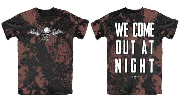 We Come Out At Night - Bleach Tee