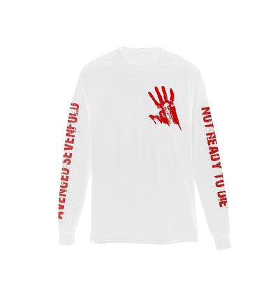 Not Ready To Die Limited Edition - White Long Sleeve
