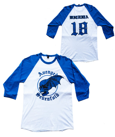 Wichita Baseball Tee Blue