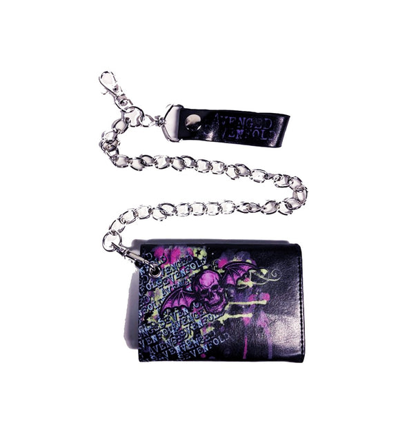 Deathbat - Wallet With Chain
