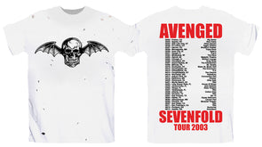 Tour 2003 - Distressed Tee