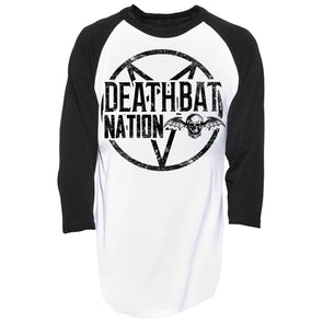 Deathbat Nation Baseball Tee
