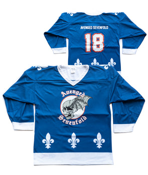 Blue Hockey Jersey
