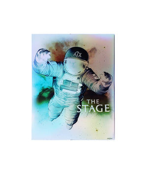 The Stage - Holographic Foil Poster