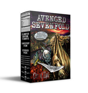 City Of Evil Cereal Box