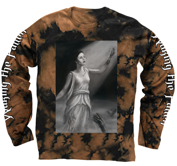 Waking - Bleach Washed Long Sleeve Tee