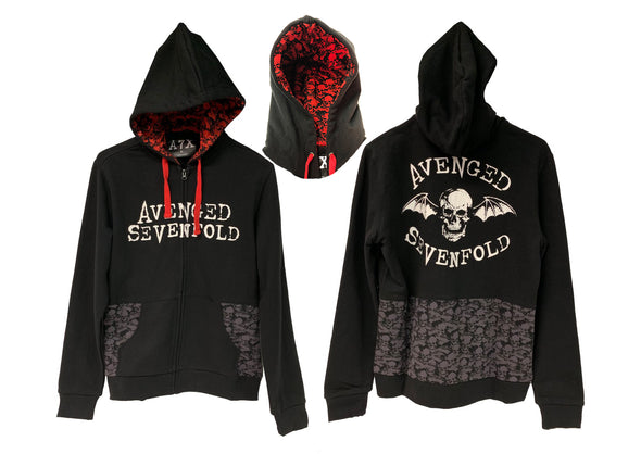 Catacomb - Unisex Zip-Up Hoodie