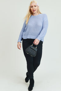 Soft Knit long Sleeve Sweater - POSHBEAR
