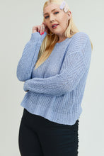 Soft Knit long Sleeve Sweater