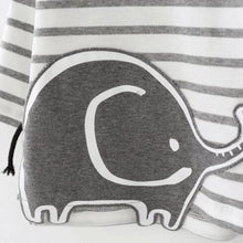 Elephant Stripped Long Sleeve