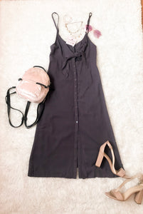 Trendy Tie Dress