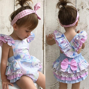 Cutest Baby Girl Ruffled Dress
