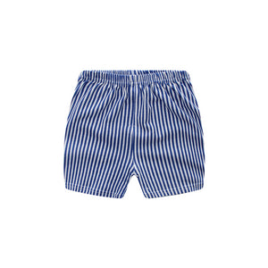 Blue Stripe baby Shorts