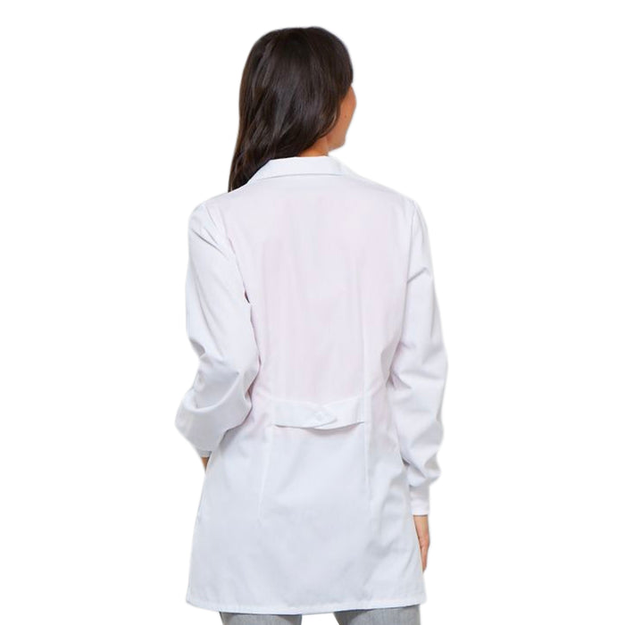 Cherokee 1362A Professional Whites with Certainty Lab Coats Traditional Classic White