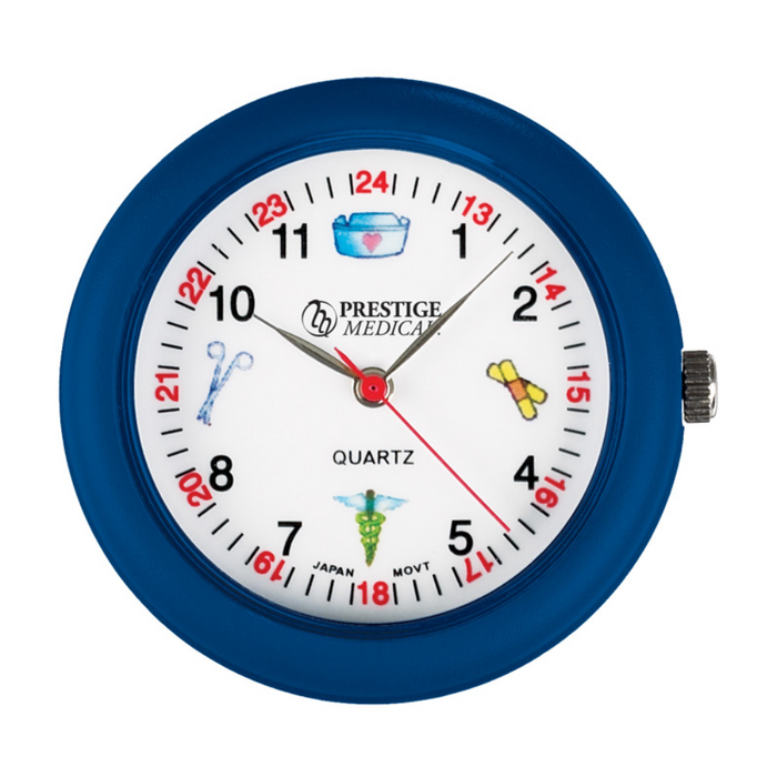 Prestige Medical Symbols Stethoscope Watch Blue