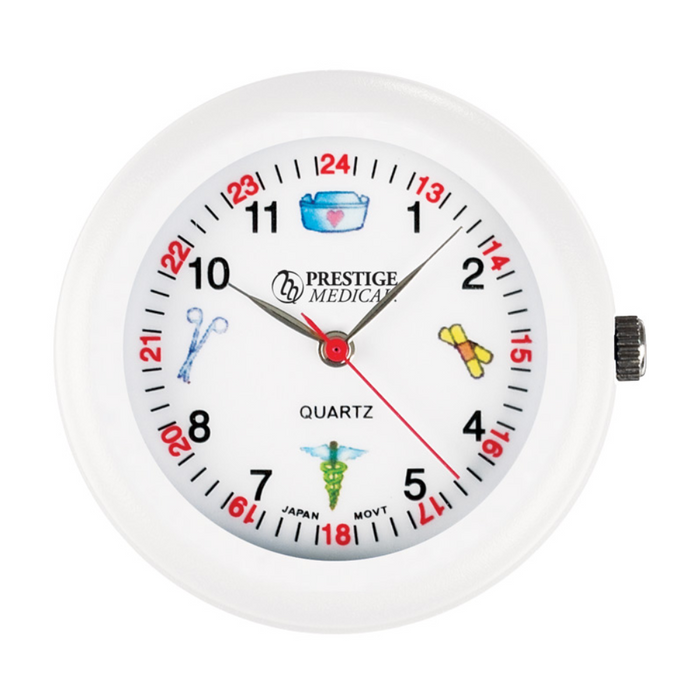 Prestige Medical Symbols Stethoscope Watch White