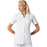 Cherokee Workwear Professionals 2879 Scrubs Top Women's Button Front White