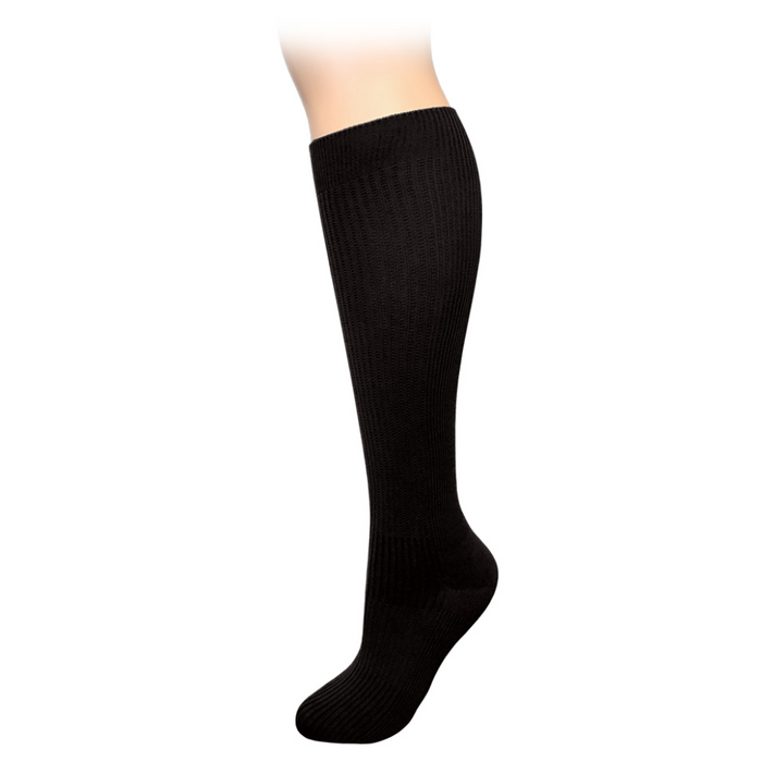 Prestige large calf compression socks Prestige large calf compression socks Black