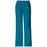 Cherokee Workwear Core Stretch 4005 Scrubs Pants Women's Mid Rise Pull-On Cargo Caribbean Blue