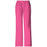 Cherokee Workwear Core Stretch 4005 Scrubs Pants Women's Mid Rise Pull-On Cargo Shocking Pink