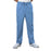 Cherokee Workwear Core Stretch 4243 Scrubs Pants Men's Drawstring Cargo Ciel Blue