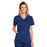 Cherokee Core Stretch 4710 Scrubs Top Women's V-Neck Navy