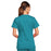 Cherokee Core Stretch 4727 Scrubs Top Women's V-Neck Teal Blue 3XL