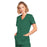 Cherokee Core Stretch 4728 Scrubs Top Women's Mock Wrap Hunter Green 3XL