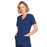 Cherokee Core Stretch 4728 Scrubs Top Women's Mock Wrap Navy 3XL