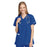 Cherokee Workwear 4801 Scrubs Top Women's Mock Wrap Tunic Royal