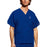 Cherokee Workwear 4876 Scrubs Top Unisex V-Neck Galaxy Blue