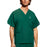 Cherokee Workwear 4876 Scrubs Top Unisex V-Neck Hunter Green