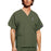 Cherokee Workwear 4876 Scrubs Top Unisex V-Neck Olive