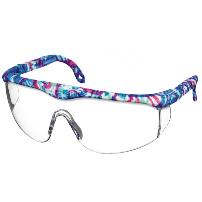 Prestige Printed Full Frame Adjustable Safety Glasses Festival