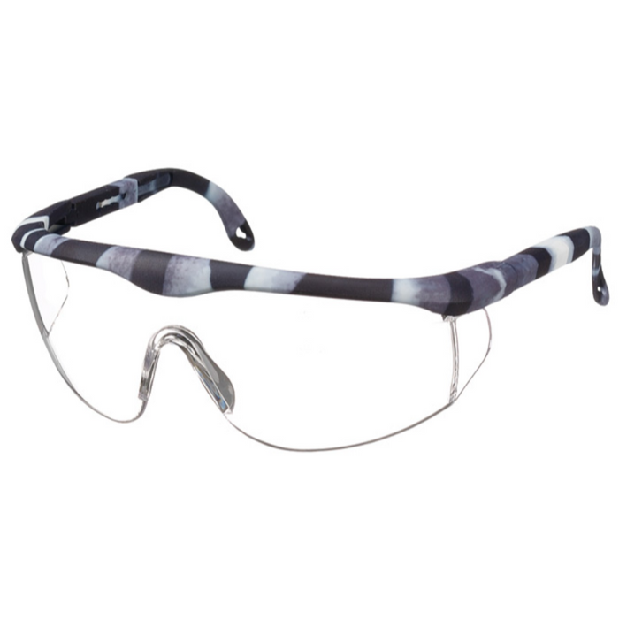 Prestige Printed Full Frame Adjustable Safety Glasses Zebra