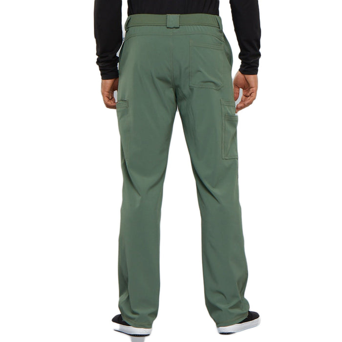 Cherokee Infinity CK200A Scrubs Pants Men's Fly Front Olive 3XL