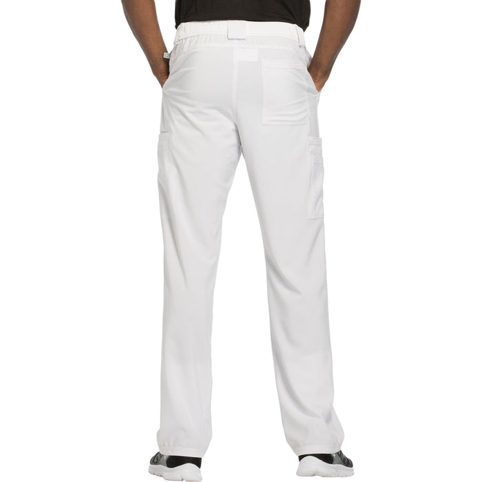 Cherokee Infinity CK200A Scrubs Pants Men's Fly Front White 3XL
