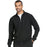 Cherokee Infinity CK305A Scrubs Jacket Men's Zip Front Black