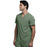 Cherokee Infinity CK900A Scrubs Top Men's V-Neck Olive 4XL